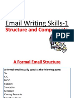 Email- Structure and Components