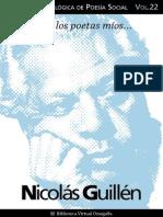 Cuaderno de Poesia Critica n 22 Nicolas Guillen