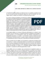 Protocolo de Actuación Sobre Identidad de Género en El Sistema Educativo Andaluz