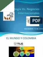Presentacion Estrategia vs. Negocios Internacionales