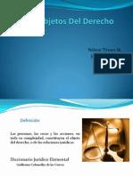 Presentacion Objetos Del Derecho