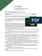 Pa Environment Digest June 30, 2014