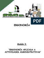 Presentación Ergonomía