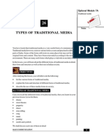 Types of Traditional Media