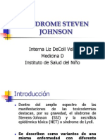 Síndrome Steven Johnson en pediatria 2009