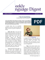 Weekly Language Digest 5th Ed - June 16-22, 2014