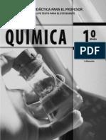 1 Medio - Quimica - Cal y Canto - Profesor