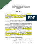 Contrato de Servicios de Consultoría