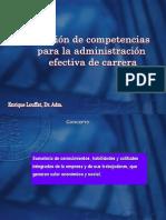 Sesion 2 COMPETENCIAS Para La Administracion Efectiva de Carrera