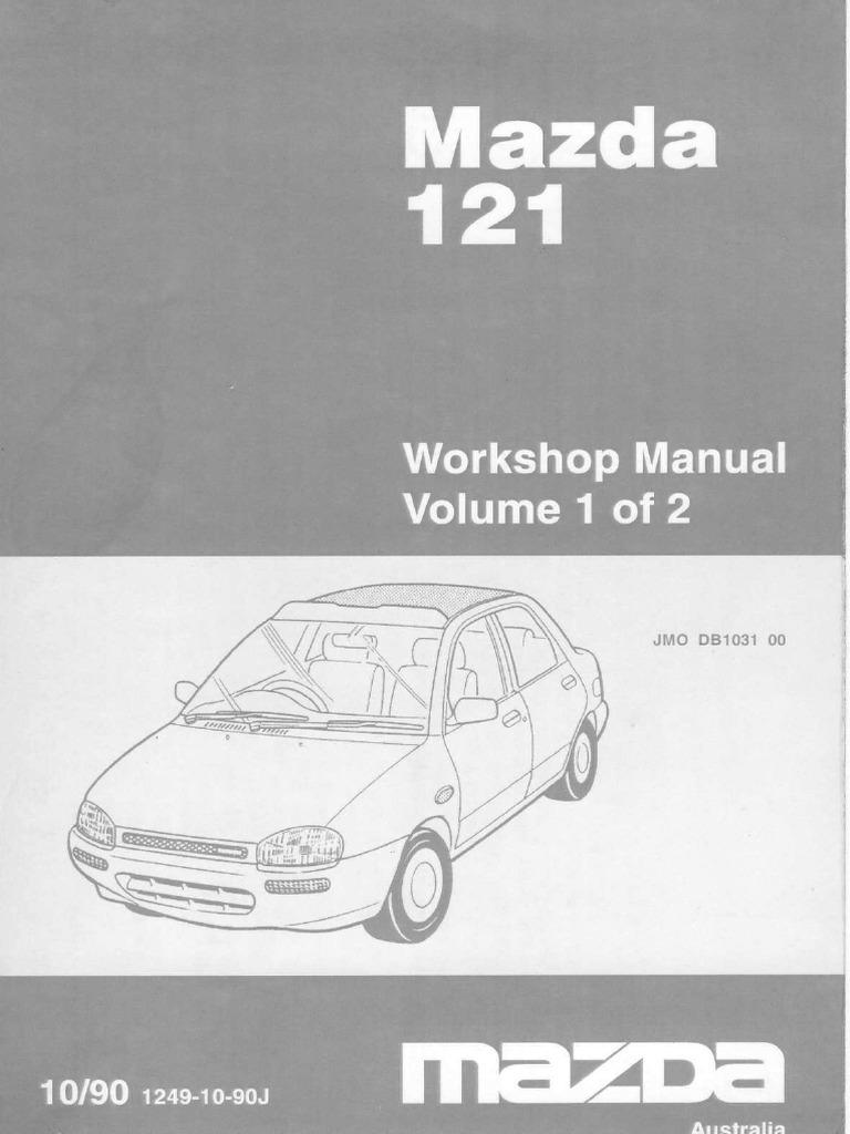 mazda b3 engine service manual cylinder engine electrical rh scribd com Mazda B3000 1998 Mazda 323