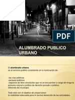 Alumbrado Publico Urbano