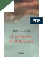 A Professora de Abstinencia Tom Perrotta