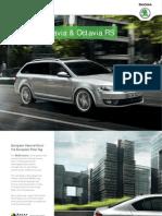 20140318 Octavia Sedan Wagon Rssedan Rswagon Brochure