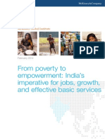 Poverty to Empowerment Indias Imperative for Jobs Growth and Effective