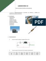 Informe Final 10 Circuitos Electricos