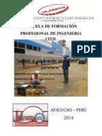 Analisis y Exploracion Geotecnica Para Carreteras