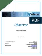 Observer Admin Guide