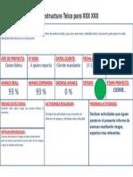 Ejemplo de Informe de Avances