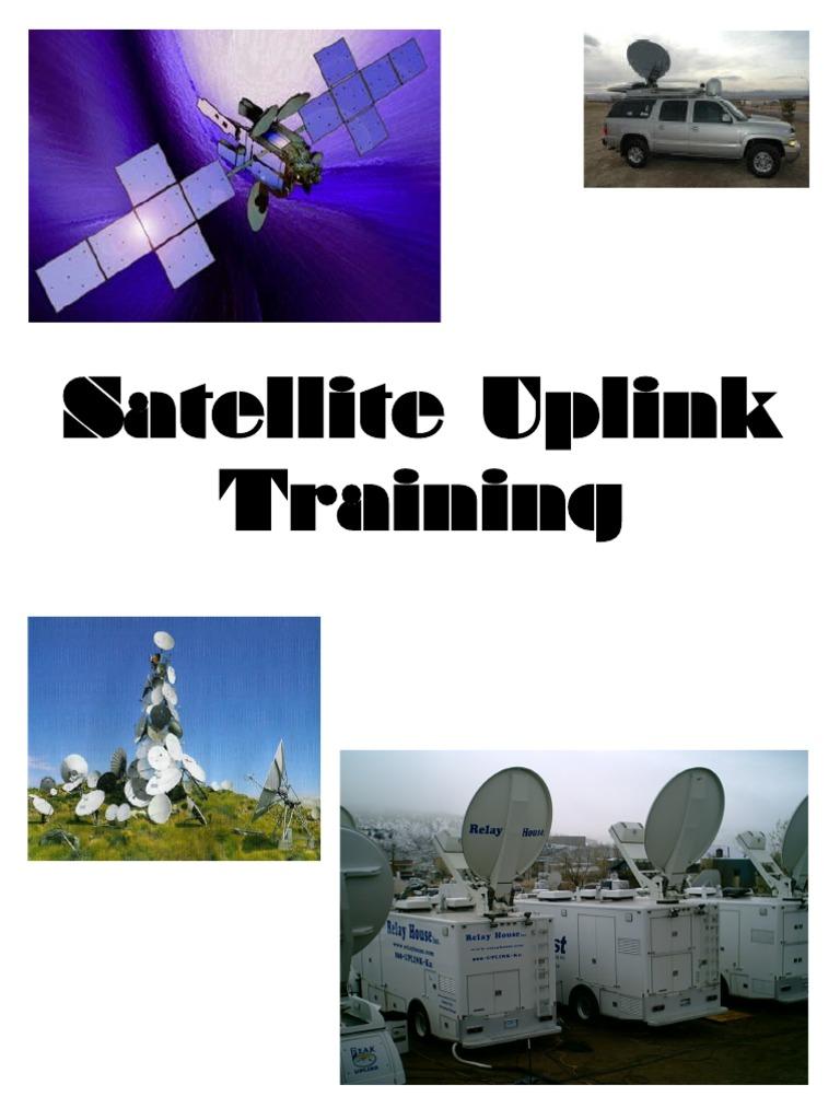 Sat Uplink Training | Telecommunications | Broadcasting