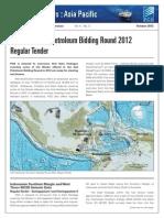 2nd Indonesian Petroleum Bidding Round 2012 Regular Tender
