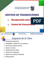 Gestion de Transacciones May-11