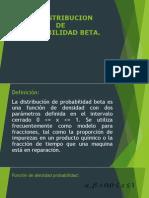 Distribucion Beta
