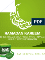 Health Factory Presentation - RAMADAN 2014