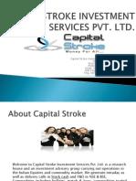 Capital stroke - Best Trading tips service provider