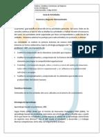 Guia de Actividades y Rubrica- Intersemestral 2014