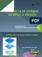 Presentación Eficiencia de Sistemas de Riego a Presión