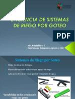 Presentación Eficiencia de Sistemas de Riego Por Goteo