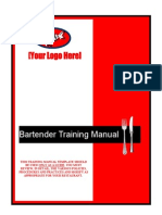 Bartender Training Manual