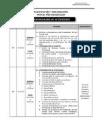Planificacion Del Año Escolar 2014 Sl