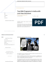 Top MBA Programs in India With Low Fees Structure _ CareerAnna