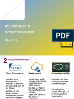 mondora presentation 2014
