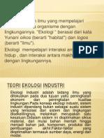 Teori Ekologi Industri