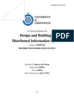 Coursework Distributed System _ Greenwich