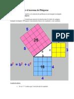 Como Demostrar El Teorema de Pitágoras
