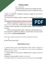ModModelarea datelor.pdfelarea datelor