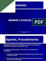procedimientosagendaactas-140616151045-phpapp01