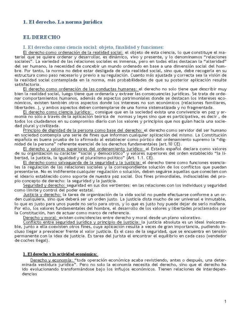 Resumen Introduccion Al Derecho Uned-ADE-Grado