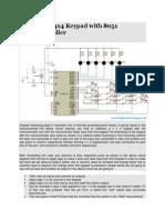 Interfacing 4x4 Keypad With 8051 Microcontroller (1)