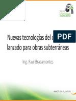 Innovaciones en La Aplicacion Del Concreto Lanzado en Obras Subterraneas