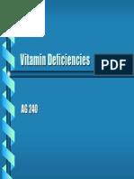 Vitamin Defisiensi nurtii