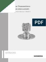 Siemens Level transmiters