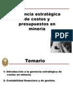 COSTOS 8 - Gerencia Estratégica de Costos Introducción