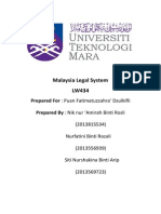 Cover MLS (malaysia legal system)
