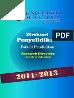 2011-2013 Directory F_Pendidikan