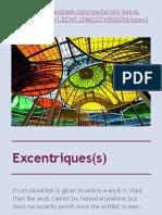 Excentriques(s)