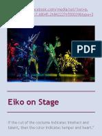Eiko on Stage